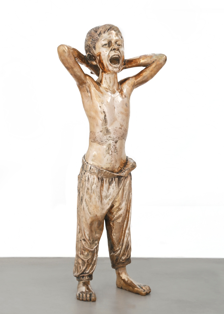 Messenger, Sculpture in bronze, 2017.jpg